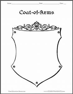 coat of arms template worksheet 3 conference theme With make your own coat of arms template