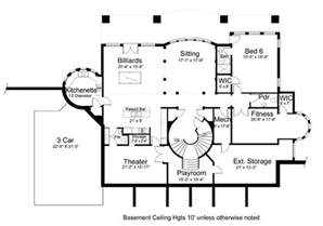 2 house plans with basement vinius 8079 5 bedrooms and 4 baths the house designers
