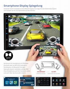 Dab Autoradio Mit Bluetooth Freisprecheinrichtung : 7 autoradio mit android 6 0 1 bluetooth navi gps usb sd ~ Jslefanu.com Haus und Dekorationen