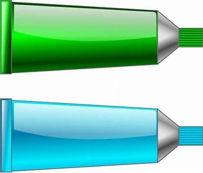 Cyan Clipart Tube Tubes Vector Clip Colour