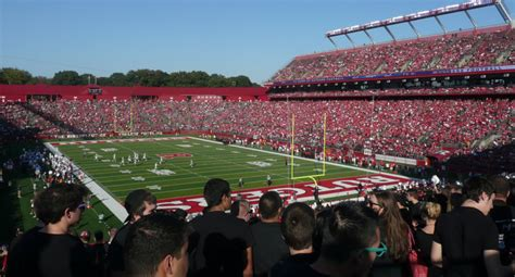 rutgers asks fans  leave stadium   portable toilets