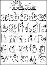 Coloring Alphabet Pages Letters Funny Preschoolers Popular Coloringhome sketch template