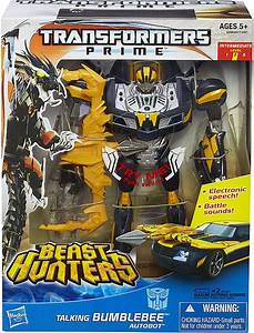 Beast Hunters Talking Bumblebee and Beast Tracker Optimus ...