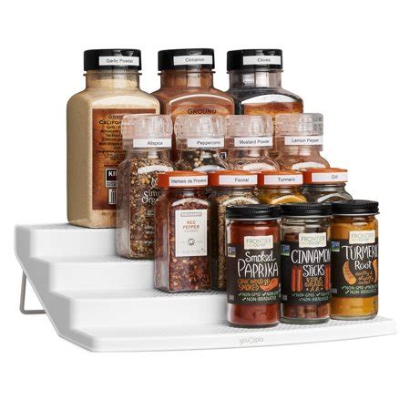 48 Bottle Spice Rack by Youcopia Spicesteps 24 Bottle Spice Organizer Walmart