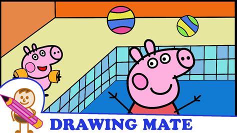 peppa pig coloring pages colouring sheets swinka peppa