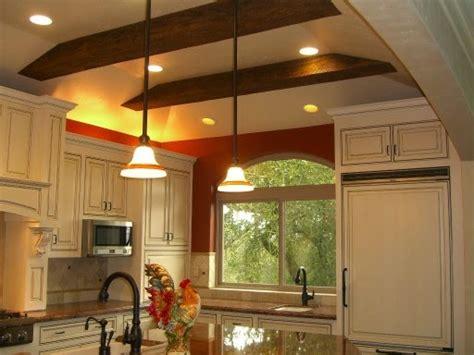 kitchen ceilings designs ديكورات اسقف معلقة للمطابخ المرسال 3332