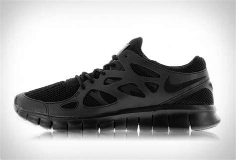 free running 2 nike free run 2 black