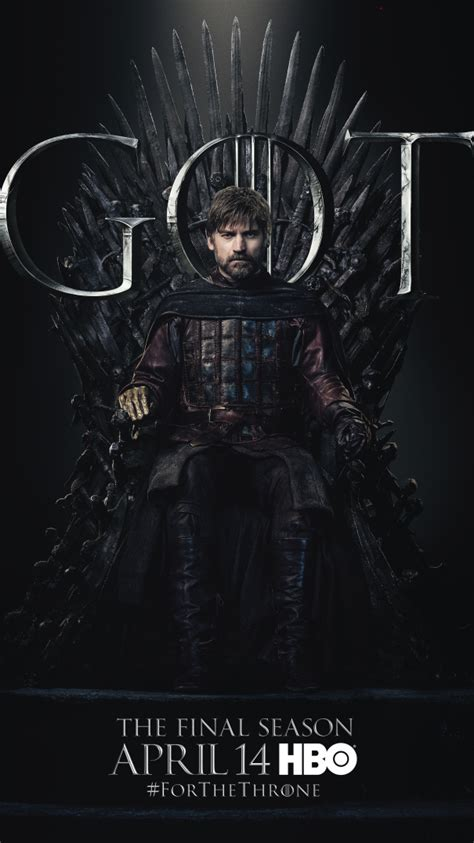 official game  thrones season  character posters
