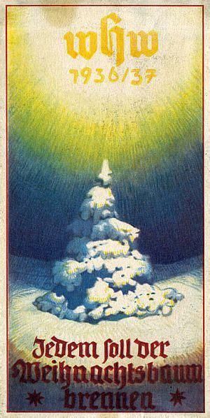 weihnachten wurde  der ns zeit ideologisch umgedeutet