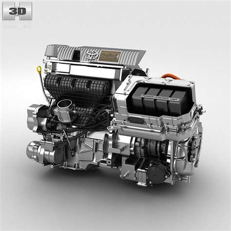 toyota hybrid engine  model car parts  humd