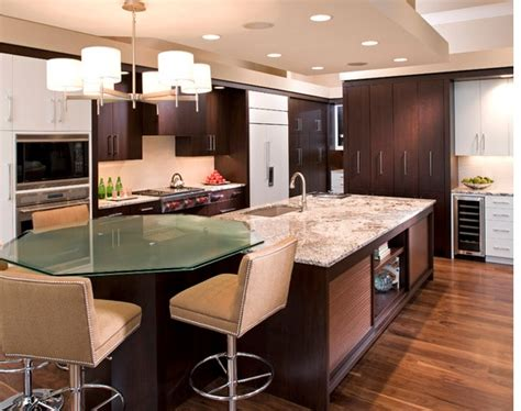 kitchen islands  attached tables images