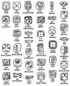 Inka Symbole Bedeutung : maybe have my students one day create their own mayan aztec code for others to translate ~ Orissabook.com Haus und Dekorationen