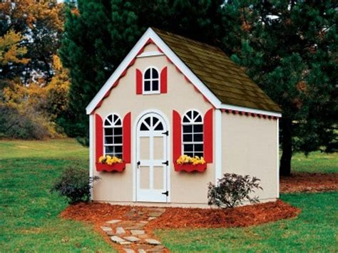 kids outdoor wooden playhouse ideas loccie  homes