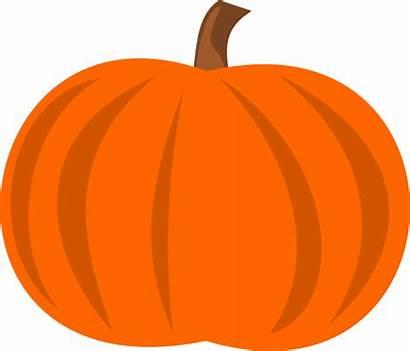 Pumpkin Plain Clip Coloring Clipart Advertisement