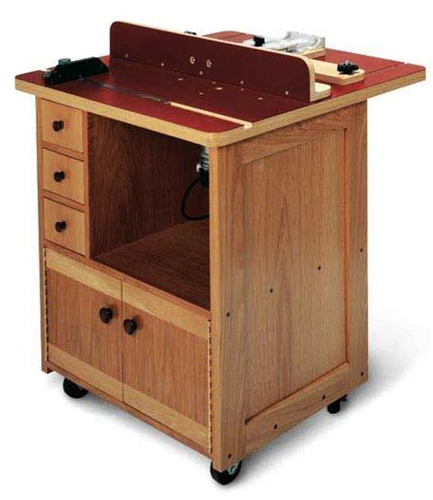 custom router table downloadable plan
