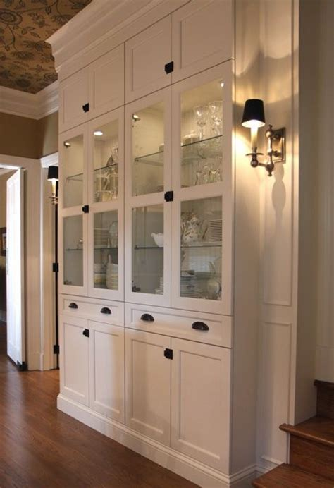 built in china cabinet designs woodworking projects plans