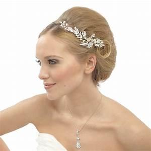 Belle Crystal And Pearl Bridal Hair Comb Vintage Wedding