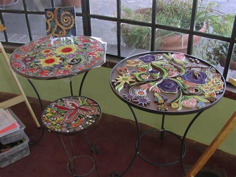 mosaic tile table kit images