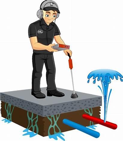 Floor Clipart Wet Leak Janitor Detection Slab