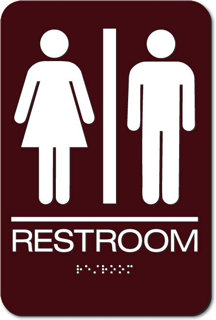 Bathroom Sign by Restroom Signs S S Unisex Air Delights