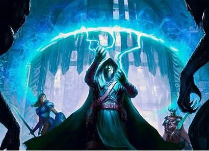 Fantasy Magic Wizard Mage Sorcerer Artwork Magician