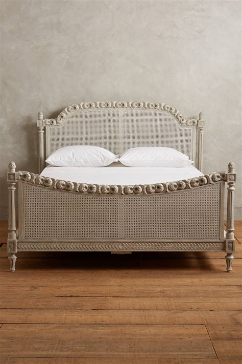 draped bed draped garland bed anthropologie