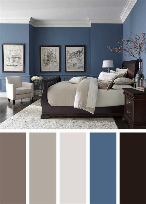 chambre parentale moderne couleur mur chambre couleur