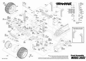 Traxxas 1  10 Scale Captain U0026 39 S Curse 2wd Monster Jam Replica