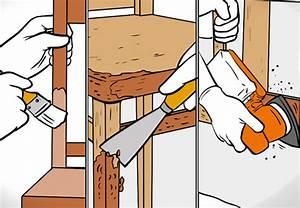 Lackiertes Holz Abschleifen : richtig lackieren und lasieren obi anleitung ~ Buech-reservation.com Haus und Dekorationen