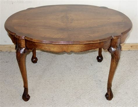 Walnut Tall Coffee Table  Centre Table  Antiques Atlas
