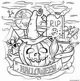 Printable Halloween Cauldron Coloring Pumpkin Activities Spooky Printablee Fun Daily sketch template