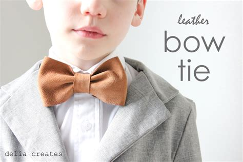 leather bow template leather bow ties