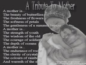 Mother Tribute Poems