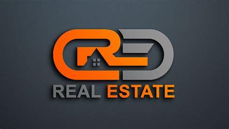 modern real estate company logo design psd graphicsfamily