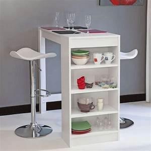 Table Bar Cuisine : table snack cuisine table de cuisine 4 chaises pas cher maison boncolac ~ Teatrodelosmanantiales.com Idées de Décoration