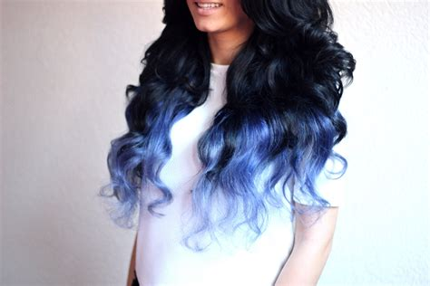 displaying images  blue black ombre hair sophie