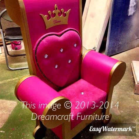 handmade children s princess throne chair made by www