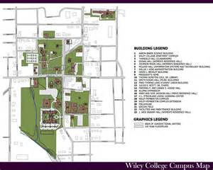 Wiley College Campus Map