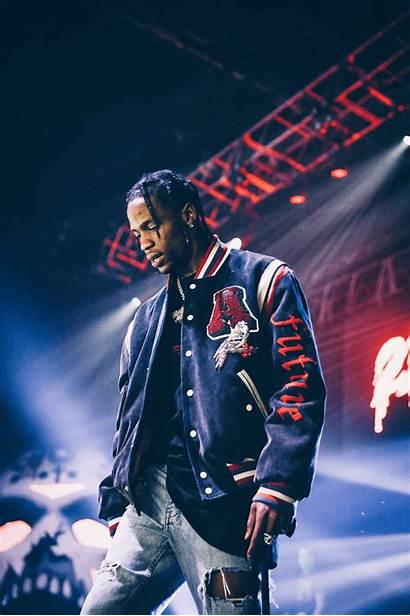Travis Scott Stage Wallpapers Concert Rap Rapper