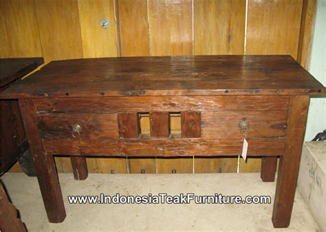 antique teak furniture indonesia reclaimed recycled teak