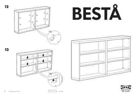 Ikea Besta Wandplank Furniture Download Manual For Free