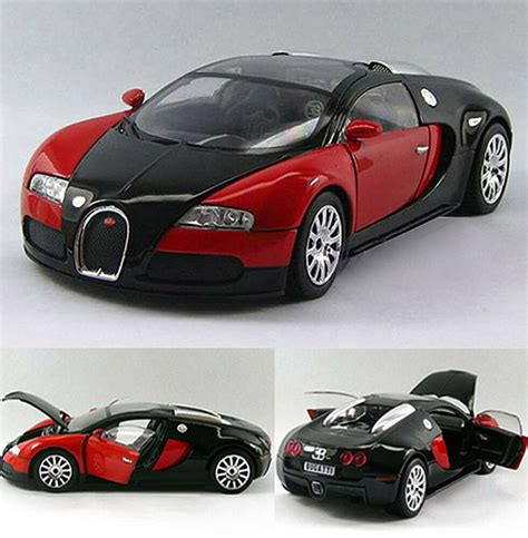 This model was one of the first cars to introduce the concept of aerodynamics to motorsports. New Bugatti Veyron 1:24 Alloy Diecast Limited Edition ...