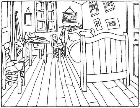 "Van Gogh's ""bedroom In Arles"" Finding Perspective"