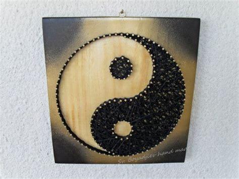string art yin  sun  moon harmony