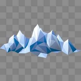 geometric mountain png images vectors  psd files