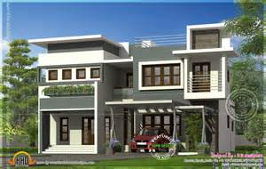 modern style home plans modern contemporary residence design kerala home design and floor plans