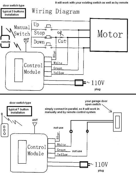 Chamberlain Garage Door Safety Sensor Wiring Diagram