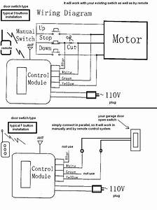 Chamberlain Garage Door Safety Sensor Wiring Diagram