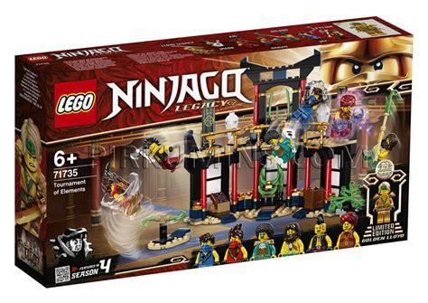 71735 LEGO® Ninjago Elementu turnīrs, no 6+ gadiem NEW ...