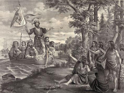 Christopher Columbus Boat Jesus by Landing Of Christopher Columbus In America At San